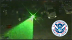 Helicopter monitoring protests in Detroit targeted by laser