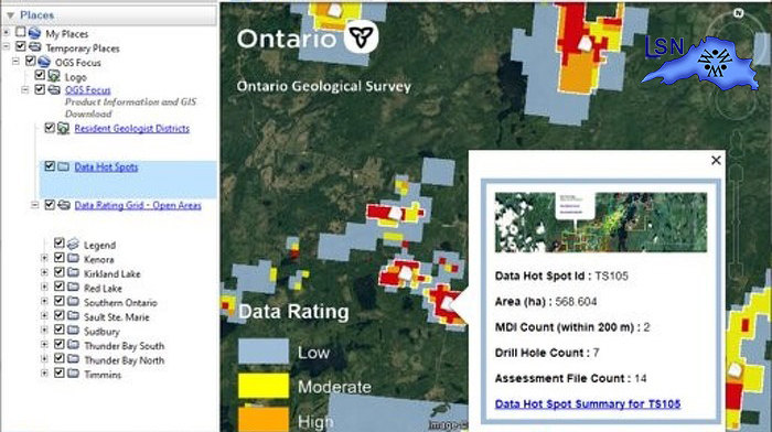 Innovative Online Tool to Help Increase Mineral Exploration