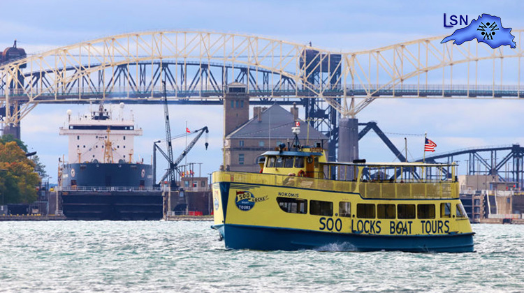 Famous Soo Locks Boat Tours Sails into 62nd Season