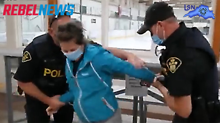 Ontario Health Laws ~  Women Arrested by OPP