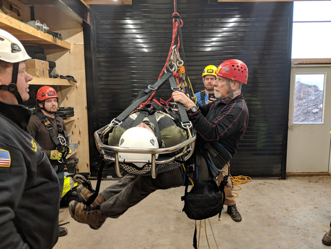 Luten Fire Department Cook County Rope Rescue  Lake Superior News