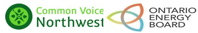 Common Voice Northwest Energy Task Force  Ontario Energy Board    Lake Superior News