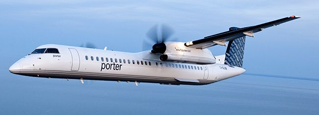 Porter Airlines Lake Superior News