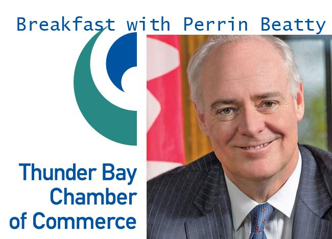 Breakfast with Hon. Perrin Beatty  Lake Superior News