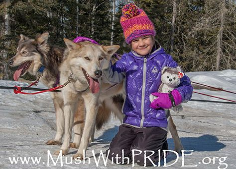 MUSH WITH PRIDE FOR SLED DOG CARE AND ADVOCACY  Lake Superior News
