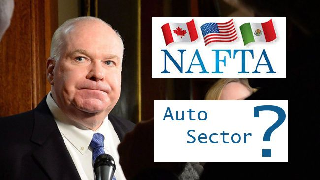 Minister Wilson on Auto Sector Jobs   Lake Superior News