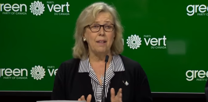 Elizabeth May Raises Possibility Of Far-Left Liberal-Green-NDP COALITION   Lake Superior News