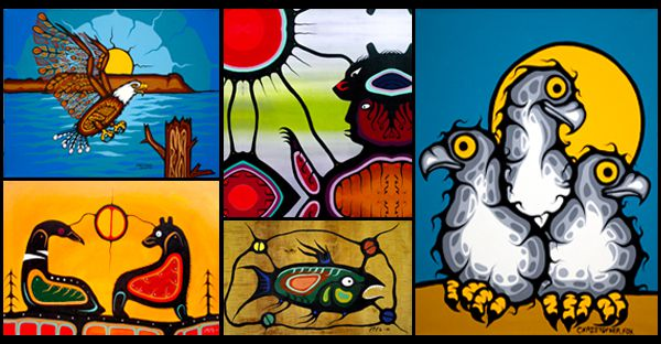 Canadian Aboriginal Paintings