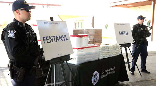 CBP Officers Seize Largest Amount of Fentanyl in CBP History    Lake Superior News