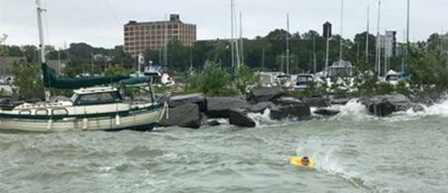 US Coast Guard Rescues Person Cleveland  Lake Superior News