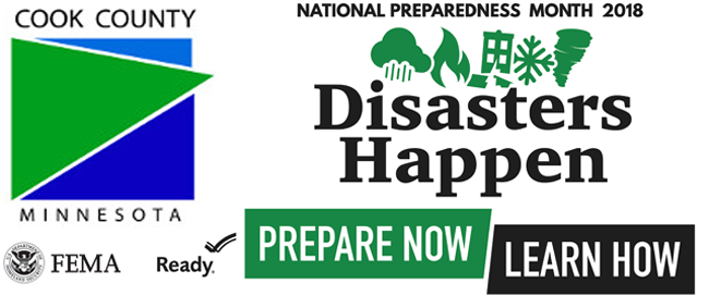 Cook County National Emergency Preparedness Month  Lake Superior News