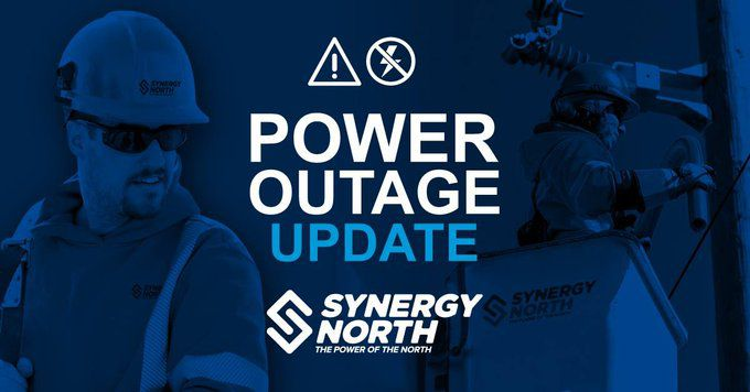 SYNERGY NORTH Power Outages