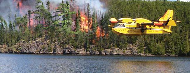 MNR Fire Season Ends   Lake Superior News