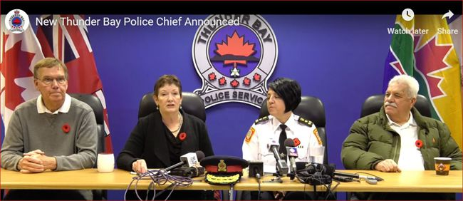 Sylvie Hauth Thunder Bay Police