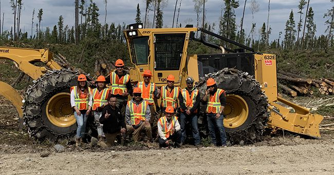 On site Training  Tigarcat   Lake Superior News