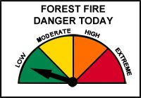 Northwest Region Fire Hazard Low Lake Superior News