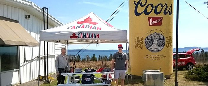 Molson Swag Crystal Beach Variety   Lake Superior News