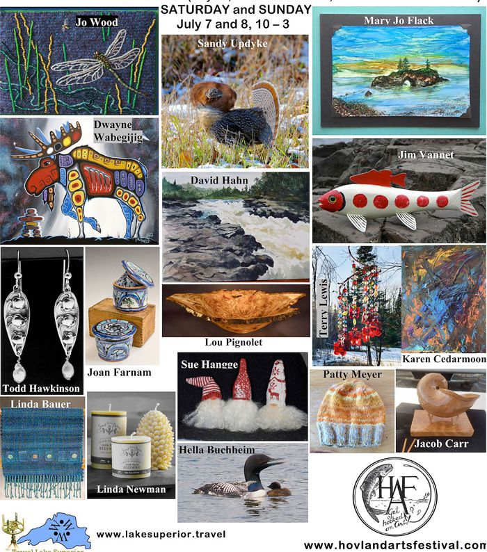Hovland-Art-Festival-July7th Lake Superior News