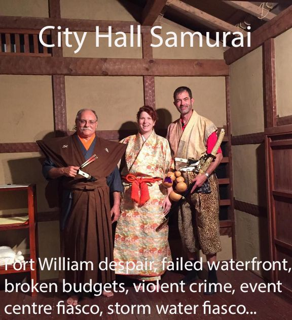 City Hall Samurai  Lake Superior News