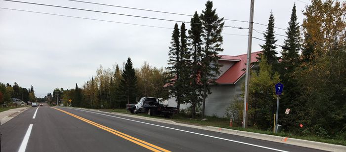 Hwy 7 Largely Complete in Time for Fall Colors   Lake Superior News
