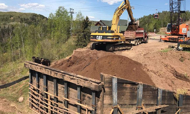 Construction  Lutsen Bridge  Lake Superior News