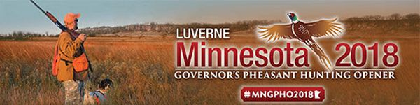Luverne host Governor's Pheasant Hunting Opener  Lake Superior News
