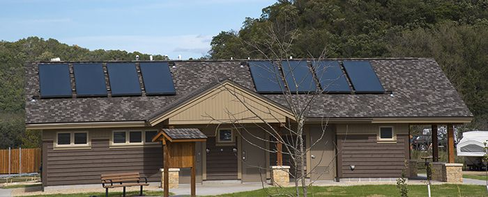 Solar White Water sanitation buildings   Lake Superior News