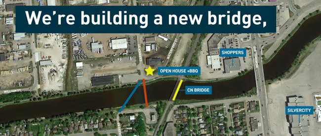 McIntyre River Pedestrian/Cyclist Bridge  Lake Superior News