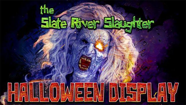 Slate River Slaughter Halloween Display ~ Lake Superior News