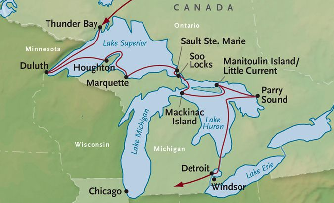 Cruising West Great Lakes   Lake Superior News