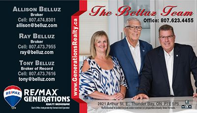 ReMax Generations  Ray Belluz  Lake Superior News