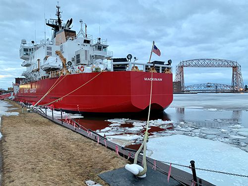 United States Coast Guard Cutters Alder and Mackinaw   Lake Superior News