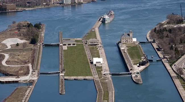 Soo Locks  Rendering   Lake Superior News