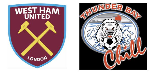 Thunder Bay Chill Joins West Ham United North American Academy  Lake Superior News