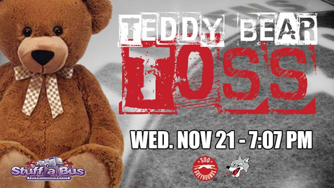 Soo Greyhounds Teddy Bear Toss   Lake Superior News